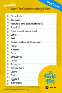 List of Foods to Avoid for Inflammation