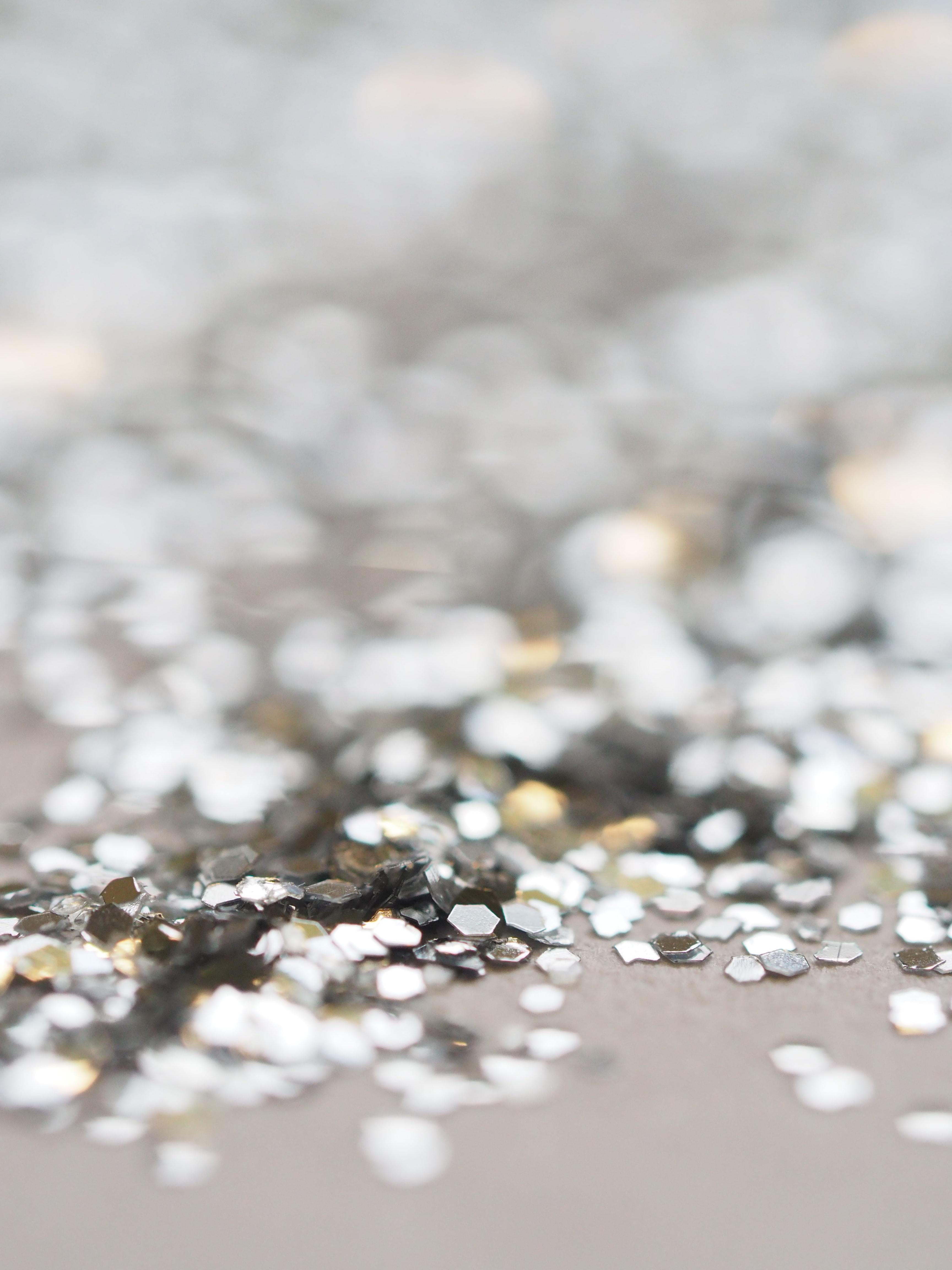 metal sparkles